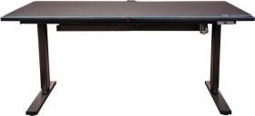 Thermaltake ToughDesk 300 RGB Battlestation, Sitz-Steh-Schreibtisch (GGD-EDN-BKEINX-01)