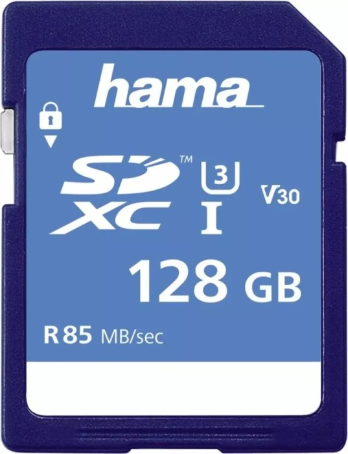 Hama R85 SDXC 128GB, UHS-I U3, Class 10 (114950) -- via Amazon Partnerprogramm