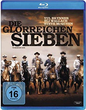 Die glorreichen Sieben (Blu-ray) -- via Amazon Partnerprogramm