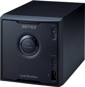 Buffalo lefttation Quad 2000GB, Gb LAN (LS-Q2.0TGL/R5)