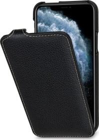 Stilgut UltraSlim Leather Case für Apple iPhone 11 Pro schwarz (B07XRMR213)