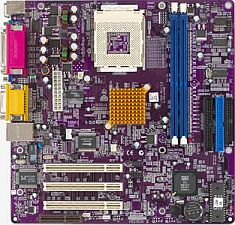 Elitegroup ECS-L7SOM, SiS740, VGA, LAN, µATX [DDR]