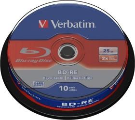 Verbatim BD-RE 25GB 2x, 10er Spindel (43694)