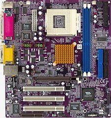 Elitegroup ECS-L7VMM, KM266, VGA, LAN, µATX [DDR]
