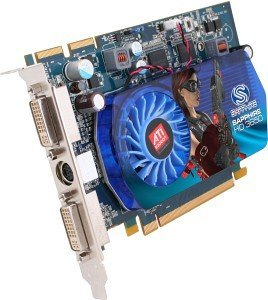 Sapphire Radeon HD 3650, 256MB DDR3, 2x DVI, TV-out, PCIe 2.0, bulk/lite retail (11127-03-10/-20R)