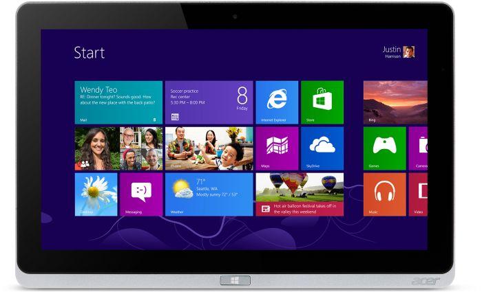Acer Iconia Tab W700P 128GB (NT.L0REG.003)