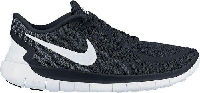 Nike Free 5.0 black/white/dark grey/dove grey (Damen) (724383-002)