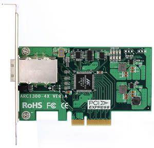 Areca ARC-1300-4x, PCIe x4