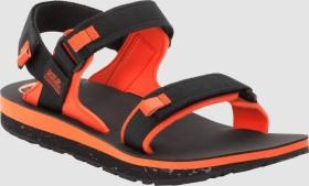 Jack Wolfskin Outfresh Deluxe Sandal M schwarz/orange (Herren) (4039431-6048060)