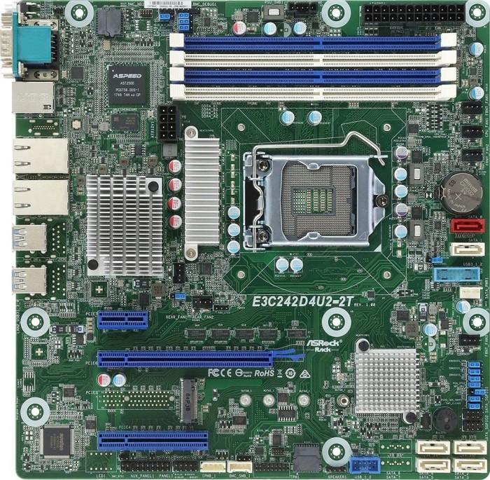 ASRock Rack E3C242D4U2-2T