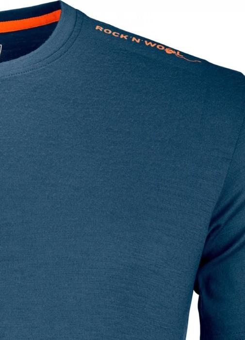 7cb9d663f42d3e Ortovox 185 Rock N Wool Shirt kurzarm night blue (Herren)