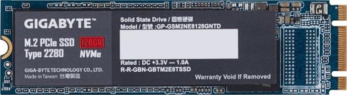 Gigabyte M.2 PCIe SSD 128GB, M.2 (GP-GSM2NE8128GNTD)