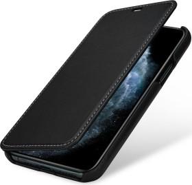 Stilgut Book Type Leather Case Nappa für Apple iPhone 11 Pro schwarz (B07YZG5S6X)