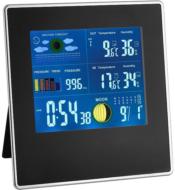 TFA Dostmann Gallery wireless weather station digital (35.1126)