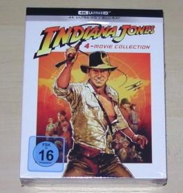 Indiana Jones Box (Filme 1-4) (4K Ultra HD)