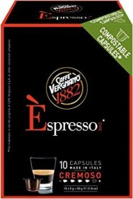 Caffè Vergnano Èspresso 1882 Cremoso Kaffeekapseln, 10er-Pack