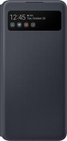 Samsung S-View Wallet Cover für Galaxy A42 5G schwarz (EF-EA426PBEGEW)