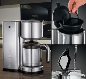 russell hobbs allure thermo kaffeemaschine 17893 56 in. Black Bedroom Furniture Sets. Home Design Ideas