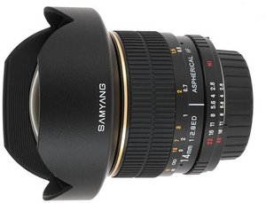 Samyang 14mm 2.8 Asph IF ED UMC für Fujifilm X schwarz (1110610101)