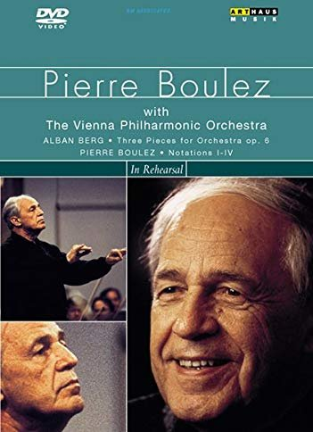 Pierre Boulez - In Rehearsal -- via Amazon Partnerprogramm