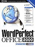 Corel: WordPerfect Office 2000 - Sprachaktivierte (Voice Powered) Edition aktualizacja (angielski) (PC)