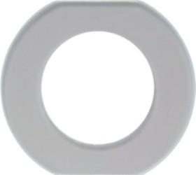 Berker Serie Glas Glasmittelrahmen 1fach, klar (109300)