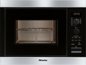 Miele M8151-2 CLST built-in microwave with grill