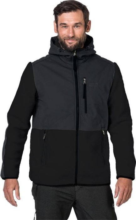 skate shoes shop best sellers classic styles Jack Wolfskin Dawson Hooded Jacket black (men) (1705841-6000 ...