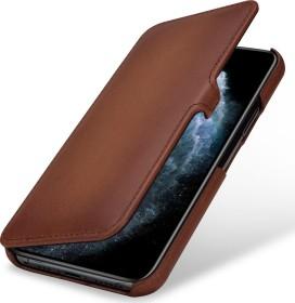 Stilgut Book Type Leather Case Clip für Apple iPhone 11 Pro braun (B07XRN8VL7)