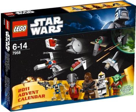 LEGO Star Wars - Adventskalender 2011 (7958) -- via Amazon Partnerprogramm