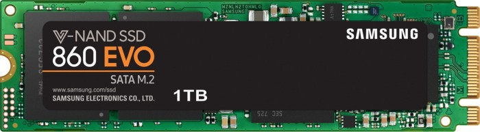 Samsung SSD 860 EVO 1TB, M.2 (MZ-N6E1T0BW)