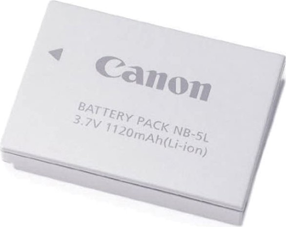 Canon NB-5L Li-Ion battery (1135B001) --  provided by bepixelung.org - see http://bepixelung.org/3475 for copyright and usage information