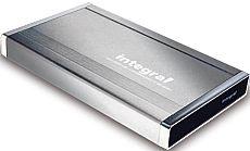 """Akasa integral P2CB silver, 2.5"""", USB-A 2.0/FireWire (AK-ENP2CB-SL)"""