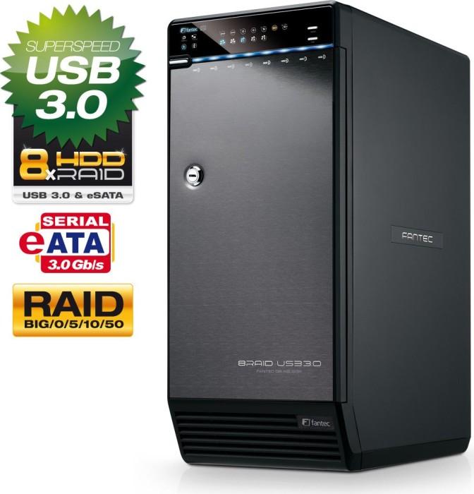 """Fantec QB-X8US3R, 3.5"""", USB-B 3.0/eSATA (1465)"""