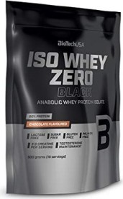 BioTech USA Iso Whey Zero chocolate 500g