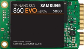 Samsung SSD 860 EVO 500GB, mSATA (MZ-M6E500BW)