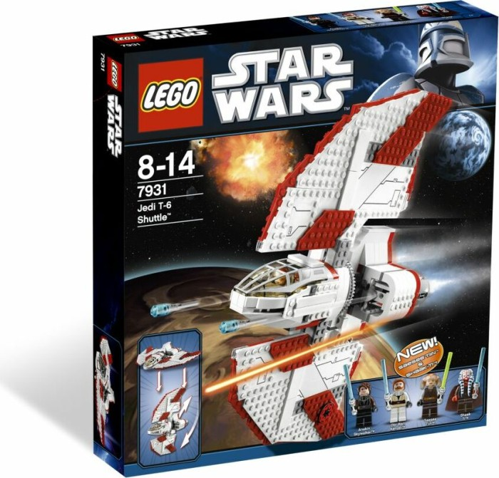 LEGO - Star Wars Clone Wars - T-6 Jedi Shuttle (7931) -- via Amazon Partnerprogramm