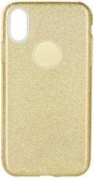Forcell Shining Case für Samsung Galaxy A71 gold