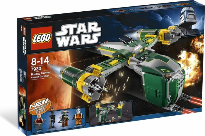 LEGO - Star Wars Clone Wars - Bounty Hunter Assault Gunship (7930) -- via Amazon Partnerprogramm