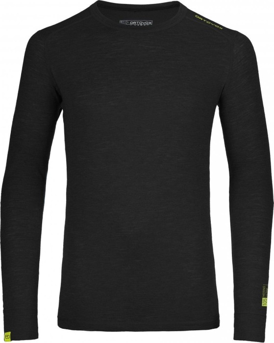 Ortovox 105 Ultra Shirt Long Arm Black Raven Mens
