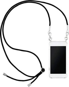 Hama Cross-Body-Cover mit Umhängekordel für Apple iPhone XR transparent (172292)