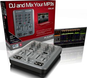 M-audio Torq MixLab DJ software controller, USB