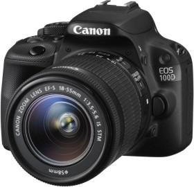 Canon EOS 100D schwarz mit Objektiv EF-S 18-135mm 3.5-5.6 IS STM (8576B108)