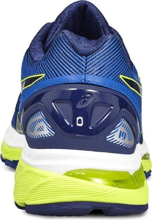 Asics Gel Nimbus 19 indigo bluesafety yellowelectric blue (Herren) (T700N 4907) ab € 179,99