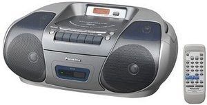 Panasonic RX-D29 srebrny
