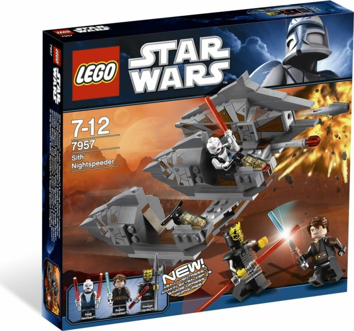 LEGO - Star Wars Clone Wars - Sith Nightspeeder (7957) -- via Amazon Partnerprogramm