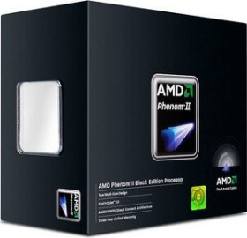 AMD Phenom II X4 940 Black Edition, 4C/4T, 3.00GHz, boxed (HDZ940XCGIBOX)