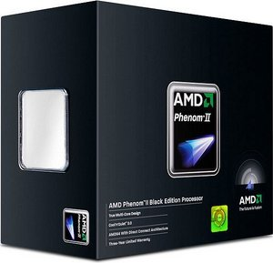 AMD Phenom II X4 940 Black Edition, 4x 3.00GHz, boxed (HDZ940XCGIBOX)