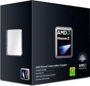 AMD Phenom II X4 940 Black Edition, 4x 3.00GHz, boxed (HDZ940XCGIBOX)