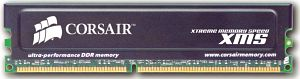 Corsair DIMM XMS     512MB, DDR-500, CL3-4-4-8-1T (CMX512-4000)